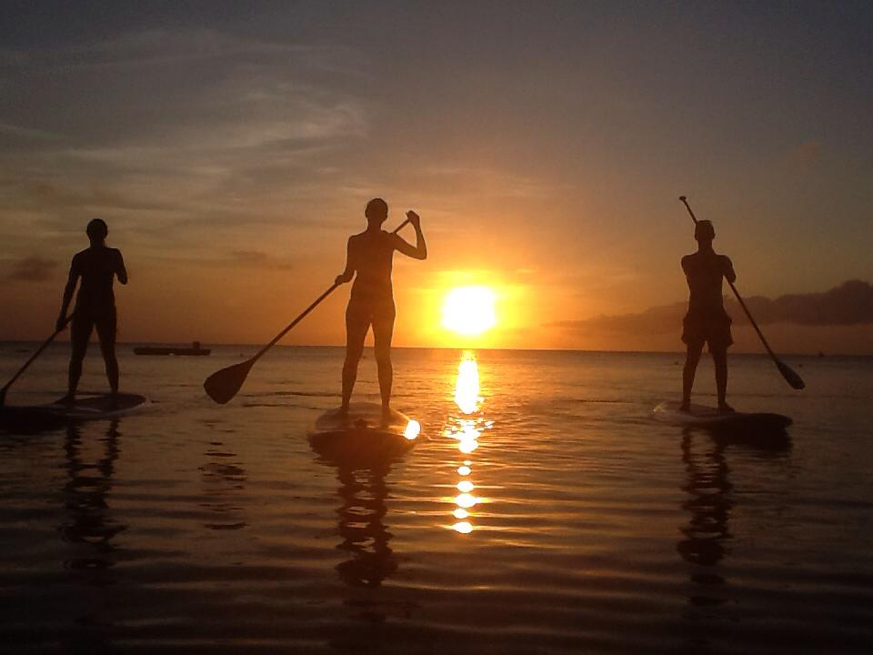 Great Places to SUP, West Bay, Roatán, Honduras
